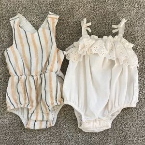 2 Old Navy Rompers
